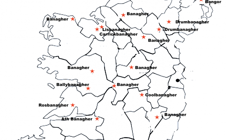 BANAGHER: WHAT DOES THE PLACENAME MEAN?