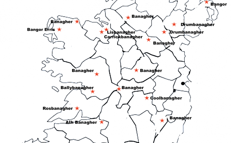 BANAGHER, CO OFFALY: WHAT DOES THE PLACENAME MEAN?
